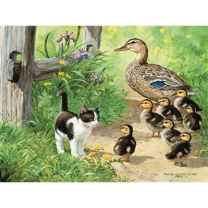 "SunsOut (51917) - Persis Clayton Weirs: ""Duck Inspector"" - 500 pieces puzzle"