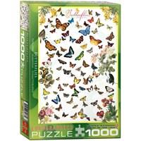 "Eurographics (6000-0077) - ""Butterflies"" - 1000 pieces puzzle"