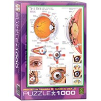 "Eurographics (6000-0260) - ""The Eye"" - 1000 pieces puzzle"
