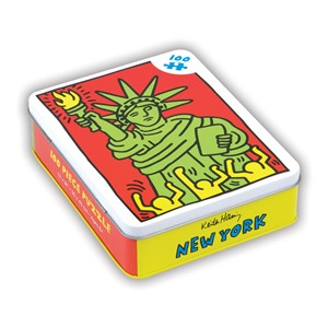 "Chronicle Books / Galison - Keith Haring: ""New York"" - 100 pieces puzzle"