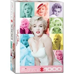 "Eurographics (6000-0811) - Milton Greene: ""Marilyn Monroe"" - 1000 pieces puzzle"