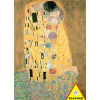 "Piatnik (557545) - Gustav Klimt: ""The Kiss"" - 1000 pieces puzzle"
