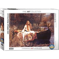 "Eurographics (6000-1133) - John William Waterhouse: ""The Lady of Shalott"" - 1000 pieces puzzle"