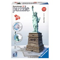 """Ravensburger (12584) - """"Statue of Liberty"""" - 108 pieces puzzle"""