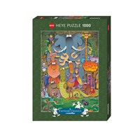 "Heye (29284) - Guillermo Mordillo: ""Photo"" - 1000 pieces puzzle"