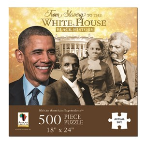"African American Expressions (PUZ-11) - ""From Slavery to the White House"" - 500 pieces puzzle"