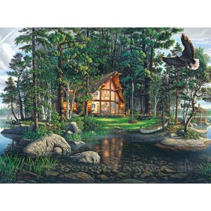 "Buffalo Games (11610) - Kim Norlien: ""Freedom's Promise"" - 1000 pieces puzzle"