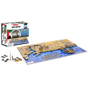 """4D Cityscape (40046) - """"Dubai"""" - 1200 pieces puzzle"""