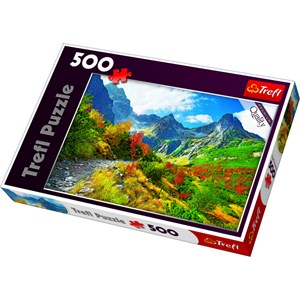 "Trefl (371901) - Jan Wlodarczyk: ""Autumn Tatras, Poland"" - 500 pieces puzzle"