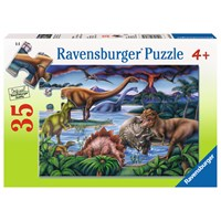 "Ravensburger (08613) - ""Dinosaur Playground"" - 35 pieces puzzle"