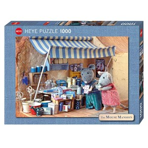 "Heye (29659) - Karina Schaapman: ""Mouse Mansion, Market Stand"" - 1000 pieces puzzle"