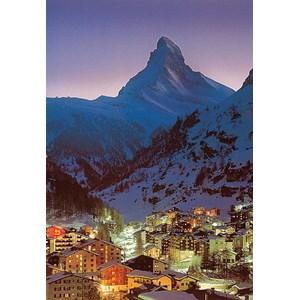 """Tomax Puzzles (30-032) - """"Night in Zermatt"""" - 300 pieces puzzle"""
