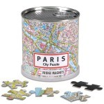 """Geo Toys (GEO 232) - """"City Magnetic Puzzle Paris"""" - 100 pieces puzzle"""