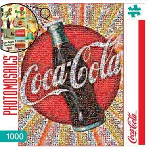 "Buffalo Games (11268) - Robert Silvers: ""Coca-Cola"" - 1000 pieces puzzle"