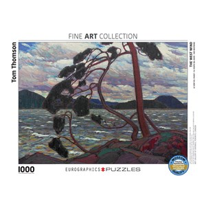 """Eurographics (6000-0923) - Tom Thomson: """"The West Wind"""" - 1000 pieces puzzle"""