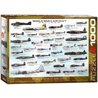"Eurographics (6000-0075) - ""World War II Aircraft"" - 1000 pieces puzzle"