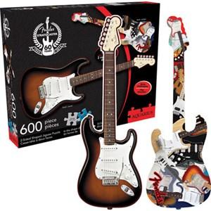 """Aquarius (75006) - """"Fender Stratocaster"""" - 600 pieces puzzle"""