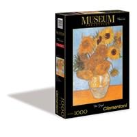 """Clementoni (31438) - Vincent van Gogh: """"Sunflowers"""" - 1000 pieces puzzle"""