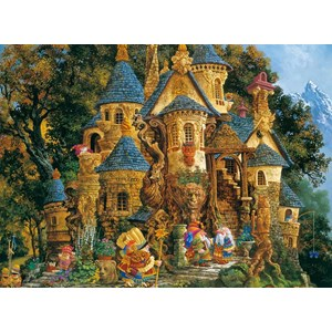 "Ravensburger (14112) - James Christensen: ""College of Magical Knowledge"" - 500 pieces puzzle"