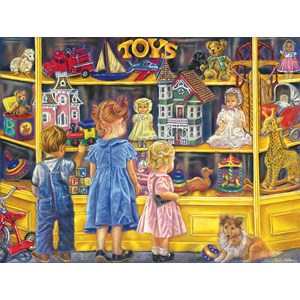 "SunsOut (35834) - Tricia Reilly-Matthews: ""Shopping for Toys"" - 300 pieces puzzle"