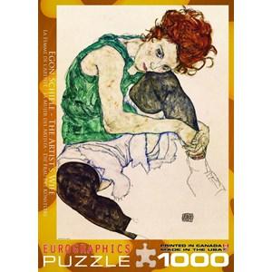 "Eurographics (6000-4539) - Egon Schiele: ""The Artist's Wife"" - 1000 pieces puzzle"