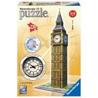 """Ravensburger (12586) - """"Big Ben Clock"""" - 216 pieces puzzle"""