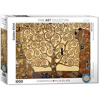 "Eurographics (6000-6059) - Gustav Klimt: ""Tree of Life"" - 1000 pieces puzzle"