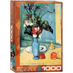 """Eurographics (6000-3802) - Paul Cezanne: """"Blue Vase"""" - 1000 pieces puzzle"""