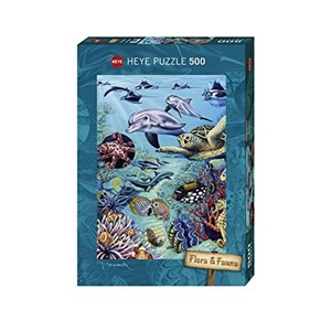 "Heye (29623) - M. Wieczorek: ""Tropical Waters"" - 500 pieces puzzle"