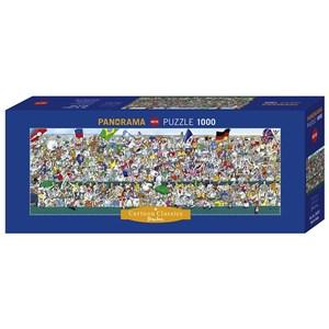 "Heye (29757) - Robert Blanchon: ""Sports Fans"" - 1000 pieces puzzle"
