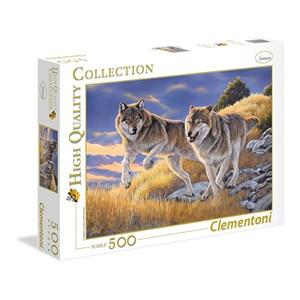 """Clementoni (35033) - Al Agnew: """"The Wolves"""" - 500 pieces puzzle"""