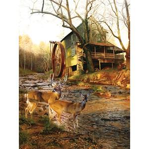 "SunsOut (17612) - Jay Kemp: ""Mill Creek Cross"" - 1000 pieces puzzle"