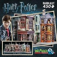 "Wrebbit (W3D-1010) - ""Diagon Alley"" - 450 pieces puzzle"