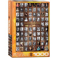 """Eurographics (6000-0249) - """"Famous Writers"""" - 1000 pieces puzzle"""