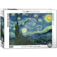 "Eurographics (6000-1204) - Vincent van Gogh: ""The Starry Night"" - 1000 pieces puzzle"