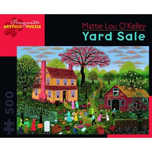 "Pomegranate (AA750) - Mattie Lou O'Kelley: ""Yard Sale"" - 500 pieces puzzle"