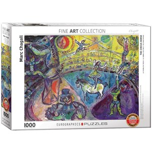"""Eurographics (6000-0851) - Marc Chagall: """"The Circus Horse"""" - 1000 pieces puzzle"""