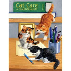 "SunsOut (51476) - Sarah Adams: ""Cat Care"" - 500 pieces puzzle"