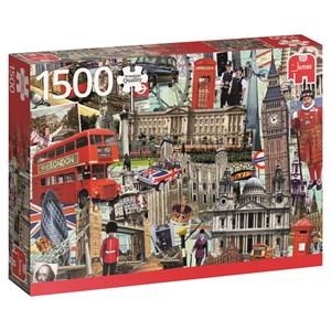 "Jumbo (18366) - Marc Arundale: ""Best of… London"" - 1500 pieces puzzle"