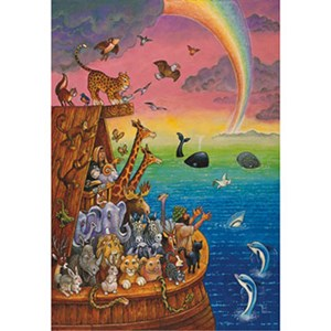 """Anatolian (PER3307) - Bill Bell: """"Noah and the Rainbow"""" - 260 pieces puzzle"""