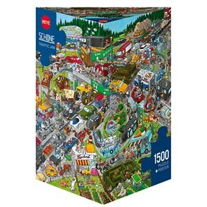 """Heye (29698) - Christoph Schöne: """"Traffic Jam"""" - 1500 pieces puzzle"""