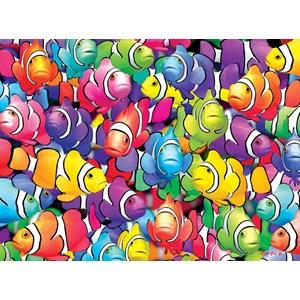 "Buffalo Games (11701) - Royce B. McClure: ""Clown School"" - 1000 pieces puzzle"