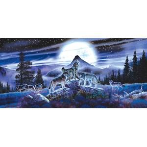 """SunsOut (34626) - Al Agnew: """"Night Wolves"""" - 1000 pieces puzzle"""