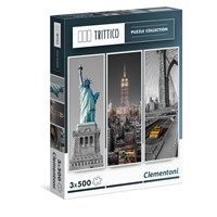 "Clementoni (39305) - ""New York"" - 500 pieces puzzle"