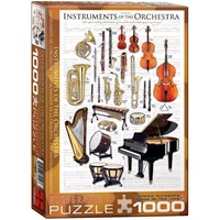 "Eurographics (6000-1410) - ""Instruments of the Orchestra"" - 1000 pieces puzzle"