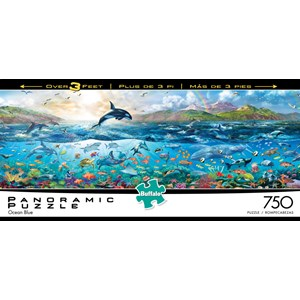 "Buffalo Games (14052) - Adrian Chesterman: ""The Big Blue Sea"" - 750 pieces puzzle"