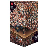 "Heye (08660) - Jean-Jacques Loup: ""Orchestra"" - 2000 pieces puzzle"