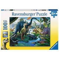 """Ravensburger (10740) - """"Land of the Giants"""" - 100 pieces puzzle"""