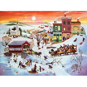 """SunsOut (14070) - Bob Pettes: """"Winter Wonderland"""" - 1000 pieces puzzle"""