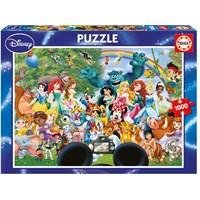 "Educa (16297) - ""World of Disney II"" - 1000 pieces puzzle"